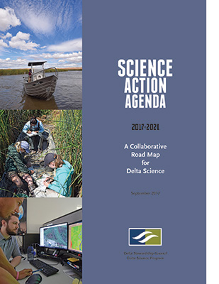 Image of the pdf science action agenda 2017-2021 - A collaborative road map for delta science